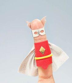 Hero Fingers - Le dita diventano Supereroi