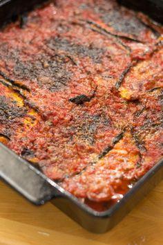 Italialainen Munakoisopaistos   Maku Ricotta Gnocchi, Lidia Bastianich, Bolognese, Risotto, Bon Appetit, Low Carb Recipes, Deli, Side Dishes, Good Food