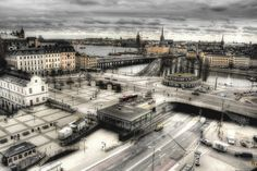 Hanging by a moment~Stockholm, the only big city so far