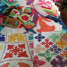 must handdyed fabric  #hawaiianquilt  #ハワイアンキルト #하와이안퀼트  #ハワイアンキルト教室 #ハンドメード #ソーイング #キルト #Hawaiian quilting class #머스트의퀼트교실 #手染め #머스트의하와이안퀼트클럽 #handdyedfabric oder production  #handmade #aloha  #applique  #hawaii