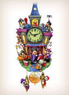 21 Disney Wall Clocks Ideas Cuckoo Clock Disney Clock Cuckoo
