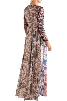 Shop on-sale Biyan Izoia appliquéd silk-blend lamé maxi dress. Browse other discount designer Dresses & more on The Most Fashionable Fashion Outlet, THE OUTNET.COM