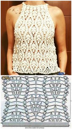 900 Ideas De Blusa Crochet Croché Ganchillo Ropa Ganchillo Blusas