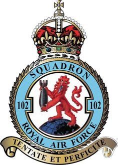 102 (Ceylon) Squadron Kings Crown Air Force Aircraft, Battle Of Britain, Royal Air Force, Kings Crown, Military, Crests, Badges, Wwii, Planes