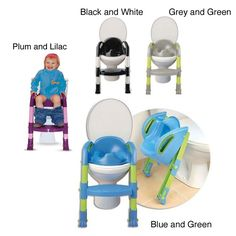 Juvenile Solutions Kiddyloo Toilet Seat Reducer - Overstock Shopping - Big Discounts on Juvenile Solutions Potty Training Accessories