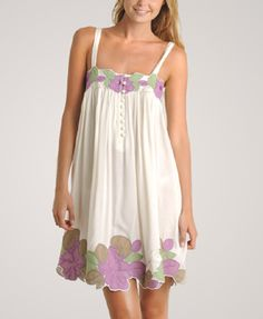 summer+outfits | White Summer Dresses 2010: Flower Patch White Summer Dress 2010
