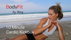 10 Minute Cardio Kickbox For Fat Blasting and Calorie Burning