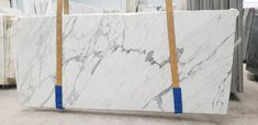 Statuario Bianco Marble slabs in stock available Statuario Marble, Marble Slabs, Wall Finishes, White Marble, Painting Techniques, Master Bath, Kitchen Remodel, Dan, Colours