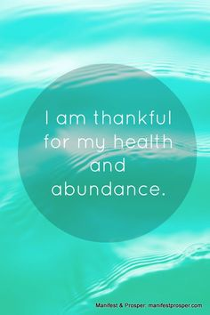 Health, Abundance Affirmation ♥ ♥ ♥ WHEN YOU NEARLY LOST YOUR LIFE  ♥ THEN ONLY YOU CAN APPRECIATE THE ABUNDANCE  AND JOY ♥ ♥ ♥