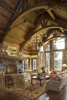 This room is just fabulous...That ceiling!!!  If I win the lottery Neen....that will be our new living room, one for you and one for me!