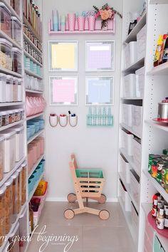 Pastel pantry