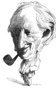 J. R. R. Tolkien, by David Levine