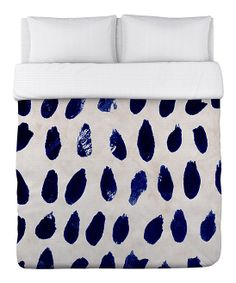 Blue Marismas Duvet Cover