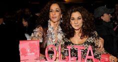 Rosario y Lolita Flores, juntas por primera vez en RD. @BureoRD