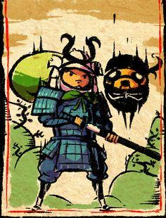 Hora de Aventuras feudales en Japón