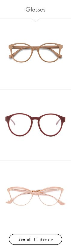"""""""Glasses"""" by random11-1 ❤ liked on Polyvore featuring accessories, eyewear, eyeglasses, glasses, sunglasses, gold, ray ban eyewear, ray-ban eye glasses, ray ban glasses and uv protection glasses"""