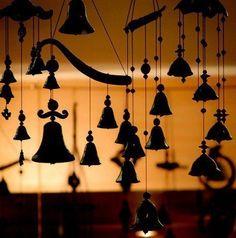 Bells against the sunset