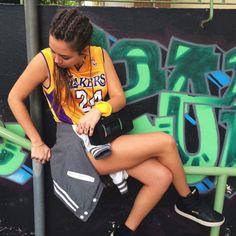 Laura no estilo com Barth no pé! #lookdodia #barthlovers Lovers, Bike, Gym, Sports, Style, Bicycle Kick, Trial Bike, Sport, Bicycle