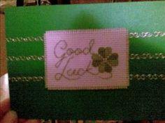 Good Luck cross stitch
