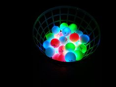 A Basket of LED Golf Balls! http://glowproducts.com/products/NSGV