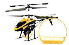 WL 388-B 3.5 Channel Hornet Transport Infrared Rescue Remote Control Helicopter with Gyro, Hook, and Basket by EDeVillas. $30.95. infarred. Equipped With Grappling Claw, Includes Carrying Basket, Speed Switch, Light Switch, Gyro, Metal Frame, LED Lights. Flight time 5-9 mins. mini size. USB Charger, 2 pcs of Blade, 1 pcs of Tail Blade, 1 Hook Basket, remote control included. The Hornet with a Hook and a Basket! Equipped with a Gyro for stable flight, this helicopter uses...