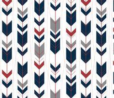 tribal arrows //earthy-ch custom fabric by buckwoodsdesignco for sale on Spoonflower Nautical Baby Bedding, Arrow Background, Baby Quilt Tutorials, Tribal Arrows, Crib Sheets, Baby Quilts, Custom Fabric, Spoonflower, Earthy
