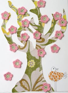 Flower tree ~ I am going to make one!!