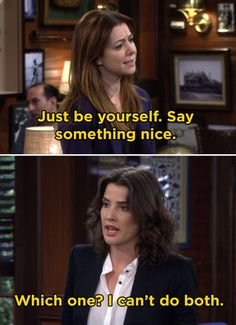 """21 Times Robin Scherbatsky Was The Best """"How I Met You Mother"""" Character """"I just want to say, from the bottom of my heart, I'm going to kill you. Himym Memes, Funny Memes, Hilarious, Dog Memes, Fun Funny, Memes Humor, Funny Shit, Funny Stuff, How I Met Your Mother"""