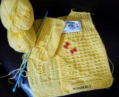 ** TRICO DA WANDERLY**: Blusa  Infantil  tricotando...