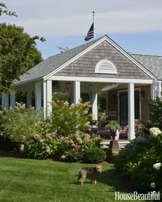 Cafe Design | Nantucket Beach House Porch-exterior