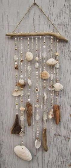Bricoler les coquillages trouvés en voyages! Voici 10 magnifiques projets faciles à réaliser! - Trucs et Bricolages