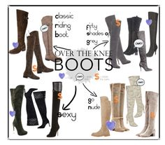 """""""These Boots Are Made For Strutting""""  ---> Nothing says you're ready to take on #fall weather in style like a good pair (or 10....) of #OverTheKneeBoots ! Whether you're on a #budget or looking to #splurge I've got you covered with some of the hottest styles, walk into #fallfashion confidently! <---  