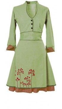 Ecouture dress Carla. Danish designed, eco friendly and extremely cute.