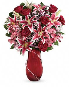 Teleflora's Wrapped With Passion Bouquet - Teleflora