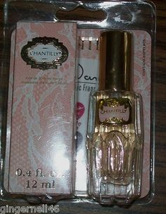 Chantilly Eau de Toilette Spray 0.4 fluid ounces 12ml New in Package. This was one of my Mom's favorites, it brings back many memories for me...