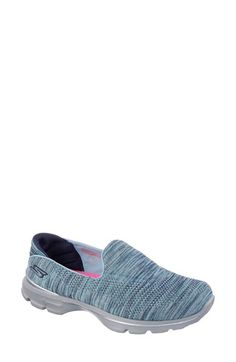 SKECHERS 'GOwalk 3 - FitKnit™' Slip-On Walking Shoe (Women) available at #Nordstrom