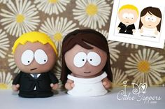 I'm never going to get married but if I did I'd want Southpark cake toppers