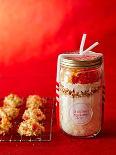 A tasty DIY food gift is the present everyone loves. We have fun food gift ideas for everyone on your list, including creamy chocolate truffles, Christmas cookies, hot sauce, flavored syrups, and more. #diychristmasgift #diygift #homemadechristmasgifts #easydiygifts #bhg