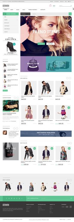 ST Demama is responsive Shopify #template with a clean, minimalist and elegant design for multipurpose #eCommerce #website. Download Now!
