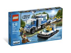 LEGO City Sets | LEGO City Police 2012 Off-road Command Center 4205 | Kollectobil