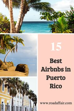 Looking for the best Puerto Rico Airbnb? In this article, we list the best vacation rentals, beach houses and unique beachfront apartments on Airbnb in Puerto Rico. Travel Expert, Travel Guides, Travel Tips, Destin Beach, Beach Trip, Puerto Rico, Travel Destinations Beach, United States Travel, Beach Houses