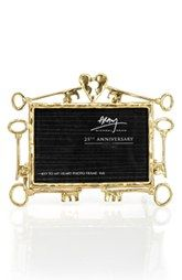 Michael Aram 'Key to My Heart - 25th Anniversary' Picture Frame (Limited Edition)