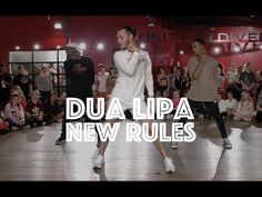 Dua Lipa - New Rules | Hamilton Evans Choreography - YouTube