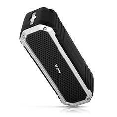 [Haut-Parleur Bluetooth Stéréo 10W] VTIN Rocker Enceinte Portable Sans fil Bluetooth Etanche 10W Pilotes Waterproof Speaker Incassable…
