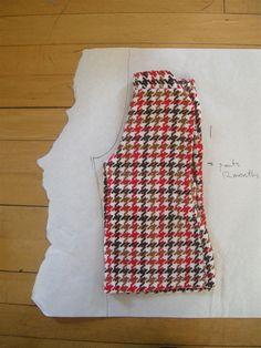 Create your own baby or toddler pants pattern - Een baby of peuter broekpatroon tekenen