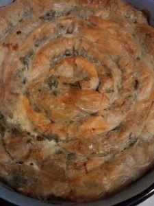 I so want to make this Gluten Free- Spinach Feta Burek