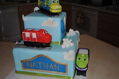 Chuggington Birthday Cake