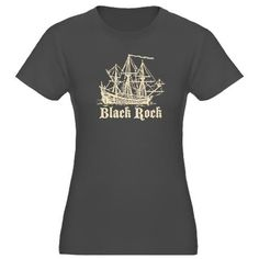 Black Rock Women's Fitted T-Shirt (dark)- I want
