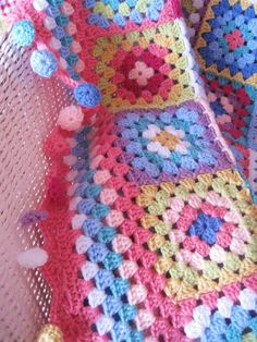 99 Ways to Count Cuteness! That is exactly how many circles it took to complete my Cherry Heart afghan.