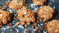Coconut Oatmeal Power Cookies